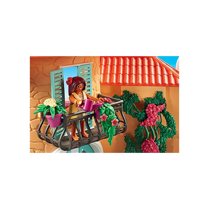 51plvrUHlmL Diversión para los pequeños amantes del sol: Chalet PLAYMOBIL con muchas figuras, animales y una amplia gama de accesorios para jugar Fantásticas horas de diversión gracias a los detalles coloridos, Encantadores muebles y mucho más, Desmontables y ensamblables Juego de figuras para niños a partir de 4 años: adecuado para el tamaño de sus manos y bordes redondeados agradables al tacto