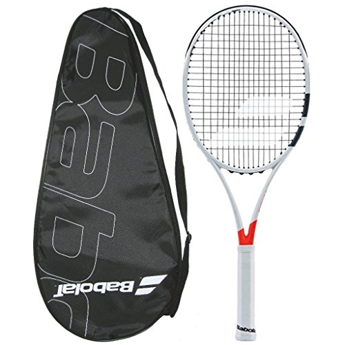 P. Pure Strike 98 16X19 Tennis Racquet - STRUNG with COVER (4 1/8)