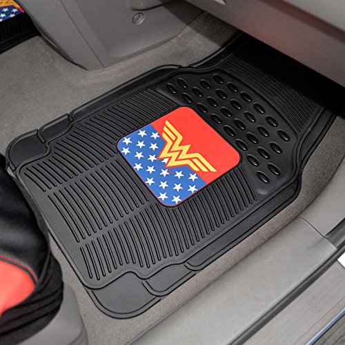 Bdk Wonder Woman Car Accessories Pack Seat Cover Rubber