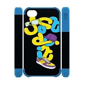 Custombox Just Do It Iphone 4/4s Case Plastic Hard Phone case-iPhone 4-DF01251
