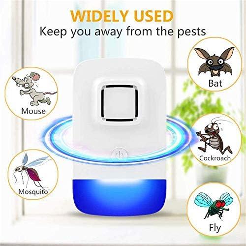 2020最新の超音波リペラー、電子害虫リペラープラグイン、害虫忌避屋内プラグ、ゴキブリ、マウス、げっ歯類、クモ、ハエ、蚊、アリ、昆虫、電気ショック療法。