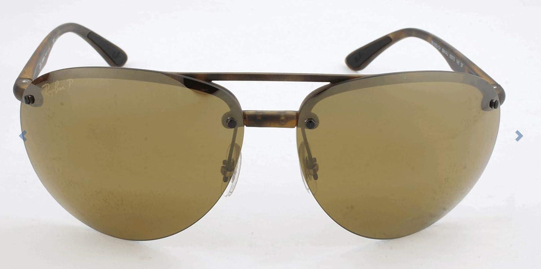 Ray-Ban 0RB4293Ch, Gafas de Sol para Hombre, Marrón (Bronze Mirror Chromance), 65