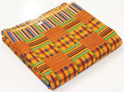 African Kente Print Fabric Pattern 1 - 12 Yards 45
