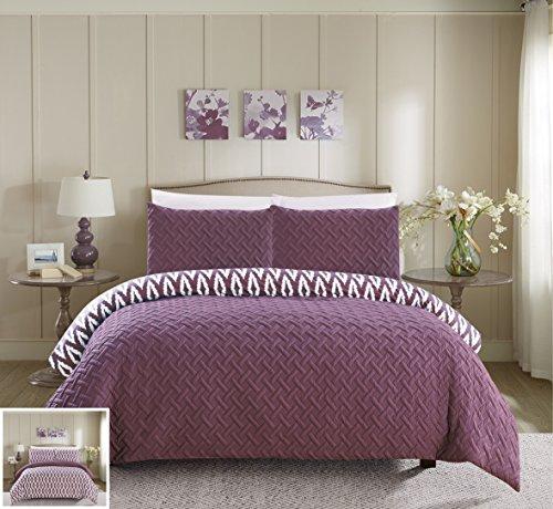 quilted queen comforter set - 5