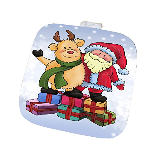 Merry Christmas Happy Holiday Pot Holder D420
