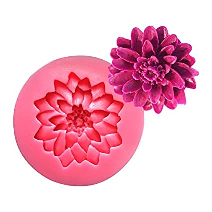 TrifyCore Margarita Flor Silicona Pastel moldes SM-505