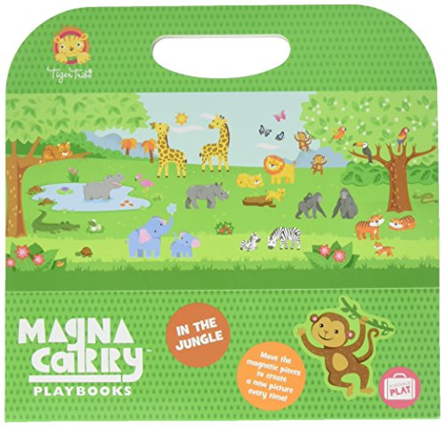 Tiger Tribe Magna Carry Playbook Activity Set, in The Jungle, 10