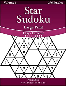 picture relating to Logic Puzzles Easy Printable known as Star Sudoku Superior Print - Uncomplicated toward Serious - Total 6 - 276