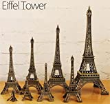 #3: Kalevel Metal Paris Eiffel Tower Model Statue Souvenir Decoration for Living Room, Home, Party