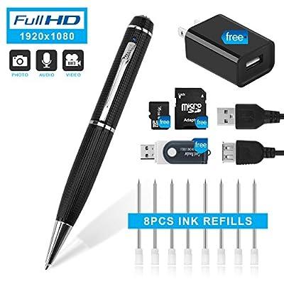 Hidepoo Hidden Camera Pen,2018 Updated Version 22 from Hidepoo