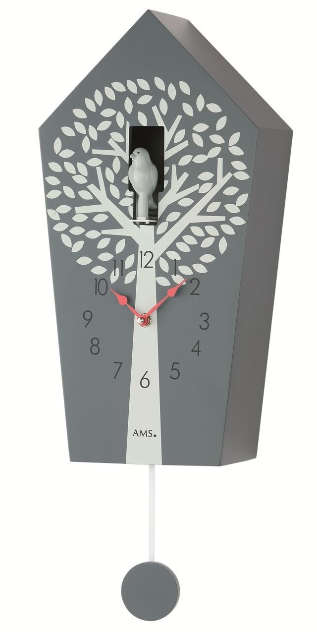 Moderne Moderne Moderne Kuckucksuhr -Modern Sytyle- Angebot von Uhren-Park Eble - AMS 7287 e1a1c5