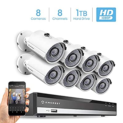 Amcrest Full-HD 1080P Security System by Amcrest