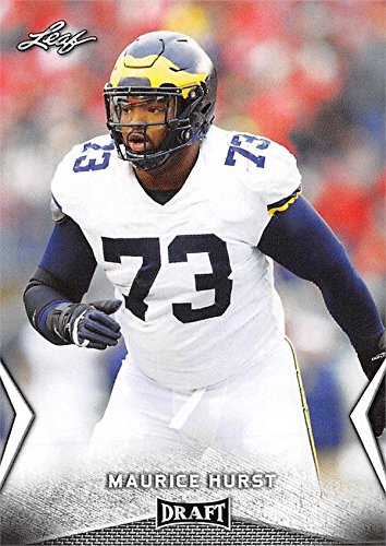 sports shoes d8bbe 12ce7 Maurice Hurst Football Card (Michigan Wolverines, Oakland ...
