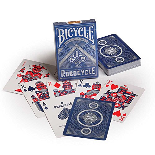 Bicycle Robocycle Playing Cards (Colors May Vary) by Bicycle