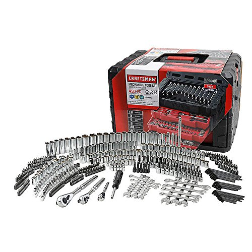 - Craftsman 450-Piece Mechanic's Tool Set
