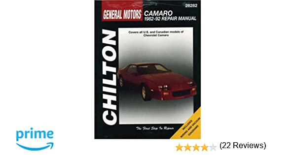 Gm camaro 1982 92 chilton total car care series manuals chilton gm camaro 1982 92 chilton total car care series manuals chilton 9780801982606 amazon books fandeluxe Choice Image