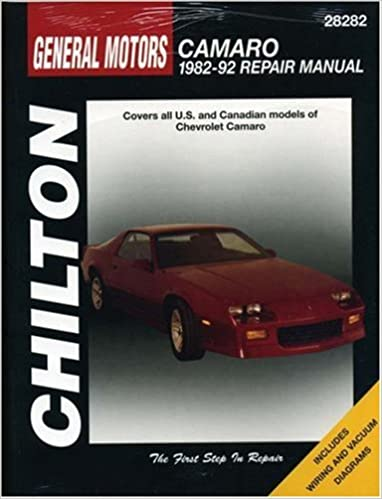 Gm camaro 1982 92 chilton total car care series manuals chilton gm camaro 1982 92 chilton total car care series manuals 1st edition fandeluxe Images