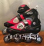 Ultra Wheels Adult Inline Skates Black/Red (11) ABEC 7 bearings