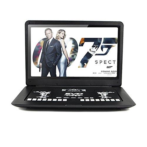FENGJIDA Portable DVD Player, 17' Portable DVD Player, DVD Player with Big...