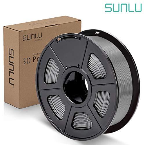 SUNLU PLA Plus Filament 1.75mm 3D Printer 3D Pens 1KG PLA+ Filament +/- 0.02 mm Grey
