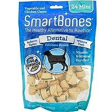 SmartBones Dental Dog Chew, Mini, 24-Count