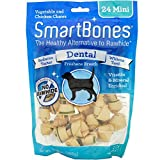 Smartbones Rawhide-Free Dental Dog Chew, Vegetable & Chicken Dog Chew Review