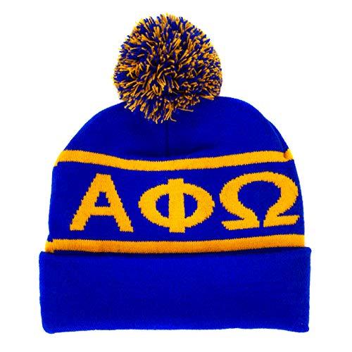 Alpha Phi Omega Beanie Winter Hat (SG) APO (Alpha Merchandise)