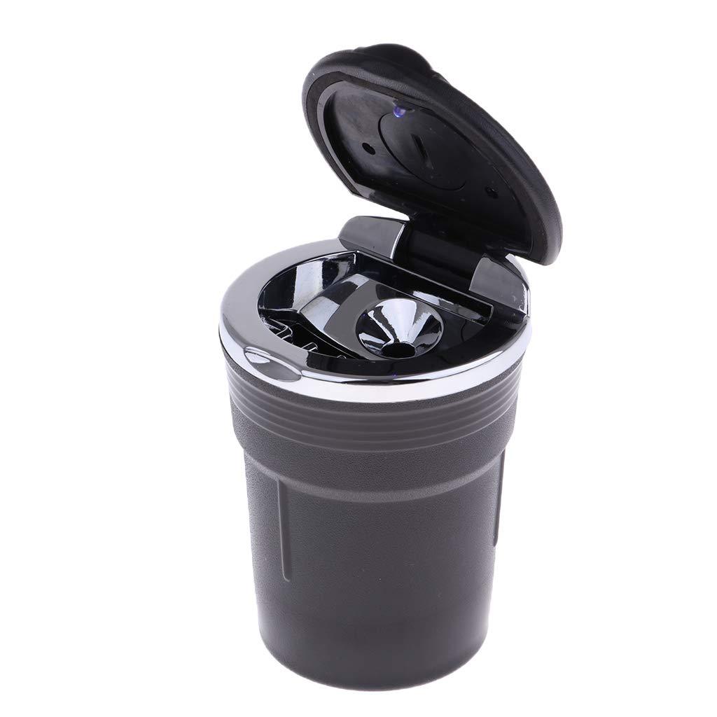 sharprepublic Abnehmbarer Waschbarer Auto Zigarette Aschenbecher mit Deckel Rosa