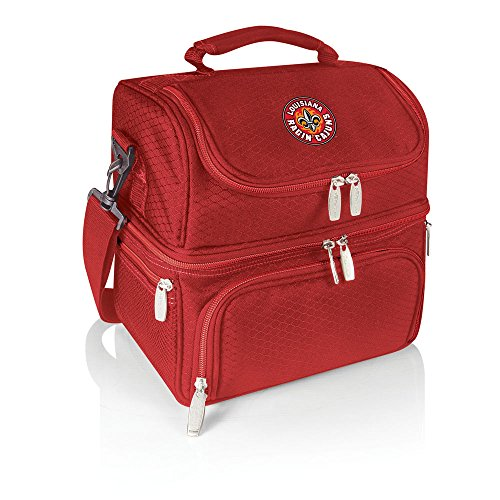 (NCAA Louisiana Lafayette Ragin' Cajuns Pranzo Insulated Lunch Tote, Red)