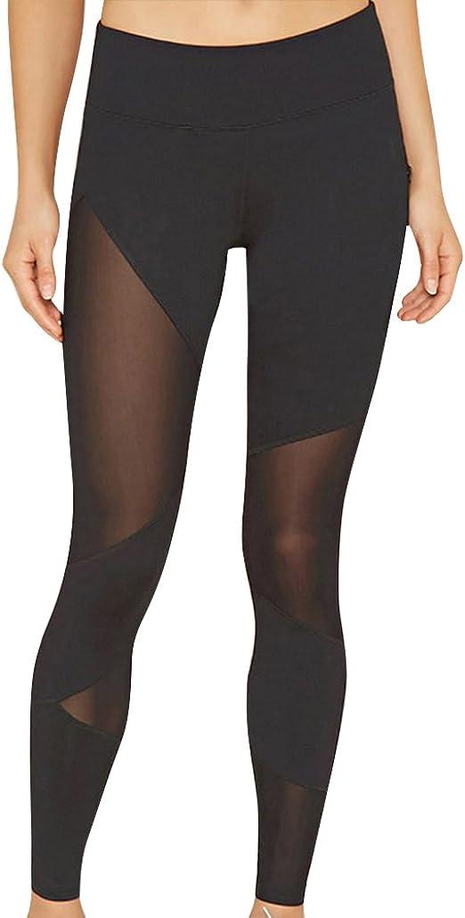 Femme Legging De Sport Athletic Gym Fitness Yoga Elastique