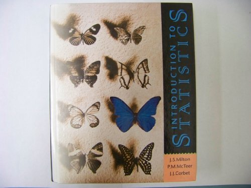 Introduction to Statistics by J.Susan Milton (1996-10-01)