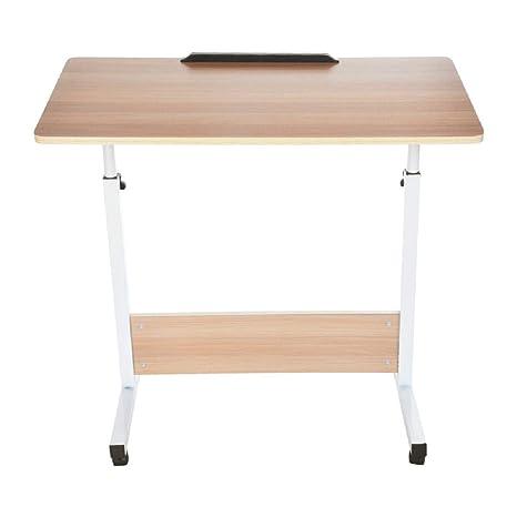 Amazon.com: Yeefant Mesa de madera para ordenador portátil o ...
