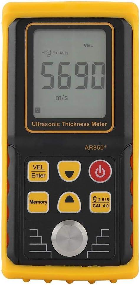 1/% +//- 0,1 mm Genauigkeit Stahl Schichtdickenmessger/ät 1,2-225,0 mm Professionelles Ultraschall Dickenmessger/ät SMART SENSOR AR850 Messbereich,