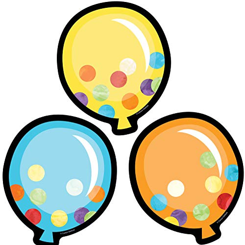 Carson Dellosa Celebrate Learning Balloons Cut-Outs -