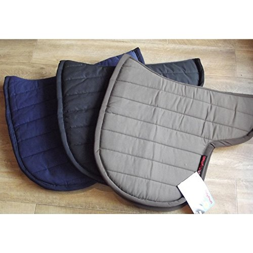 Black Polypad High Wither Forma Saddle Pad Large