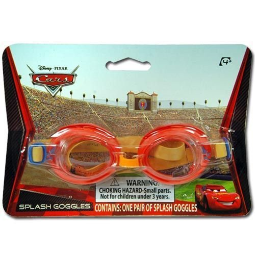 Cars Disney 1Pk Splash Goggles