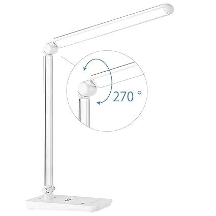 Amazon.com: Pantalla LCD USB puerto de carga LED lámpara de ...