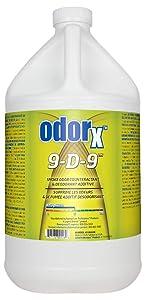 PRORESTORE - 431001000 ProRestore ODORx 9-D-9 Professional Smoke Deodorizer Spray, 1 Gal