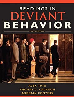 Amazon deviant behavior 11th edition 8601419019564 alex readings in deviant behavior 6th edition fandeluxe Gallery