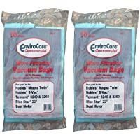 20 Nobles,Tennant and Blue Star Commercial Upright Vacuum Cleaner Allergy Bags, 611784, 900036, 612059, 86848360, Magna Twin 1600, 2200, 2600, , S-Vac,
