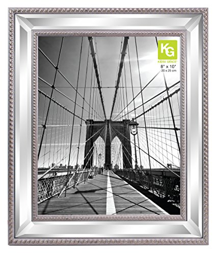 kieragrace Hollywood luxuryframes 8 by 10quot Silver