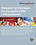 Demand for Damages for Excessive Calls (Telemarketer) [Instant Access]