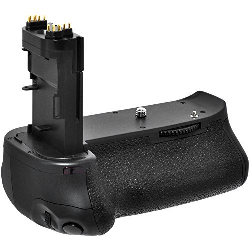 Zeikos Battery Grip - Zeikos ZE-CBG70D Professional Battery Grip Holder for Canon EOS 70D, EOS 80D Camera DSLR Replacement (Black)