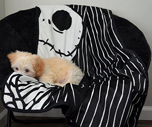Disney-Nightmare-Before-Christmas-Jack-Skellington-Luxury-Multi-Functional-Pet-Throw-Blanket-Portable-DogCat-Mat-30×40-Collectors-Edition