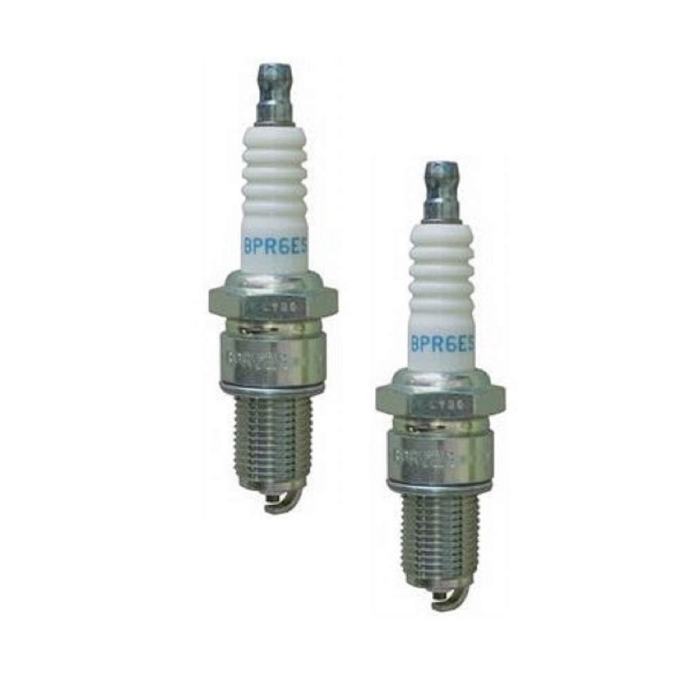 Set of 2 Spark Plug NGK Resistor BPR6ES