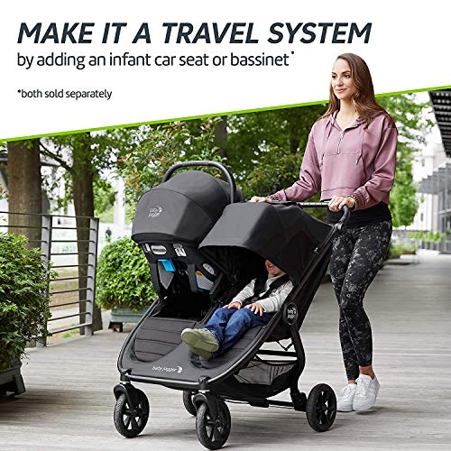 51pm3VNiIEL - Baby Jogger City Mini GT2 Double Stroller, Jet