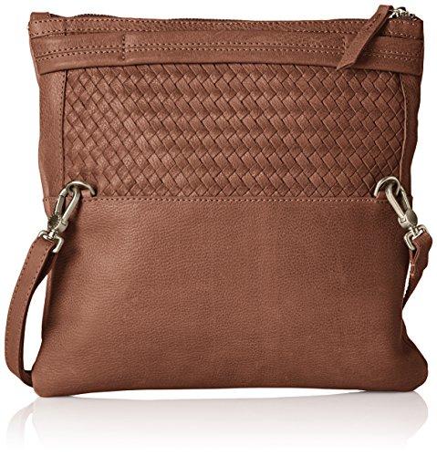 Amsterdam Cowboys Bag Peterlee - Bolso Bandolera Mujer Marrón - Braun (Chocolate 550)