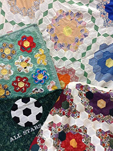Marti Michell Quilt Pattern - Hexagons Hybrid Style (Multiple Style Options)