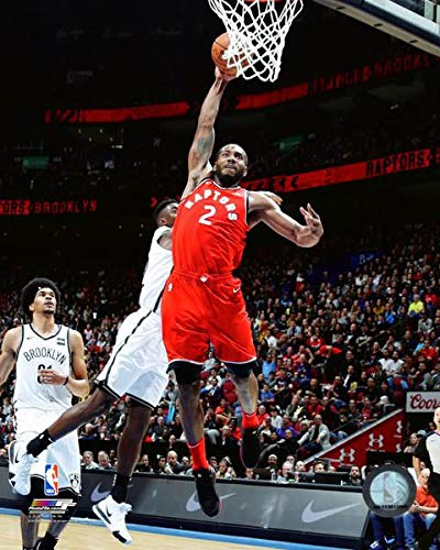 e03fbc6caa5c1 Amazon.com: Kawhi Leonard Toronto Raptors NBA Action Photo (Size: 16 ...