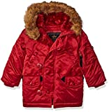 Alpha Industries Big Boys' Youth N-3b Parka Coat, Commander Red, Large/14-16
